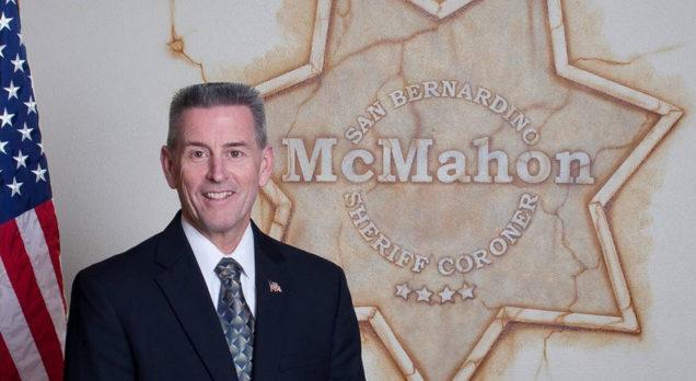 San Bernardino County Sheriff John McMahon Endorses Assemblyman Marc Steinorth for Reelection