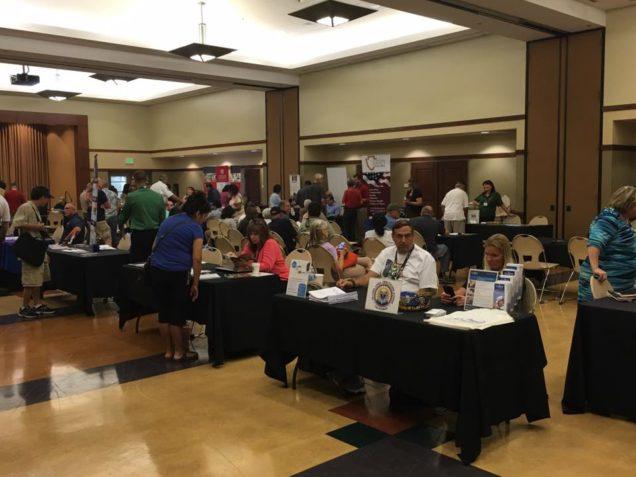 Hundreds Attend Assemblyman Marc Steinorth's Veterans Resource Fair