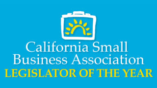 Assemblyman Marc Steinorth Named California Small Business Association Legislator of the Year
